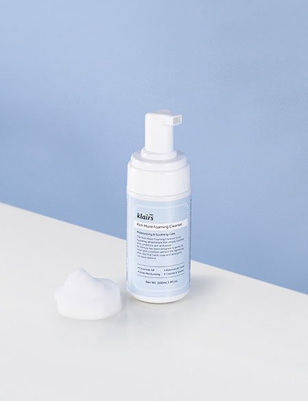 Limpiador facial Rich Moist Foaming Cleanser