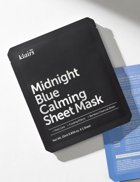 Mascarilla Midnight Blue Calming Sheet Mask de Klairs