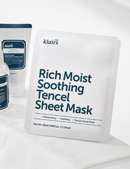 Mascarilla Rich Moist Soothing Tencel Sheet Mask